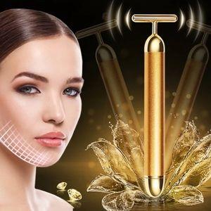 Restocked🎉24k Slimming Face Vibrating Facial Bar